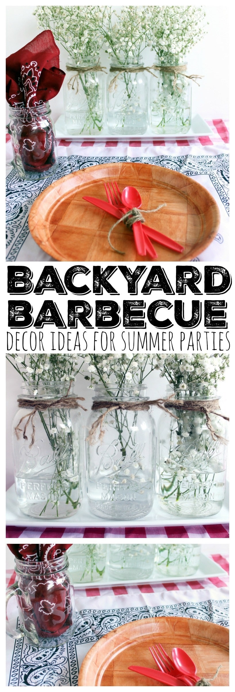 Ideas for Summer Parties - The Country Chic Cottage