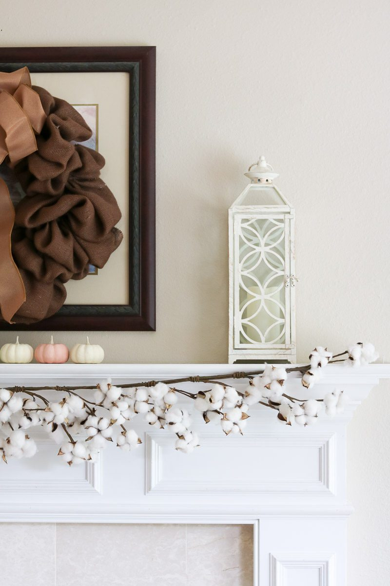fall home tour lanterns