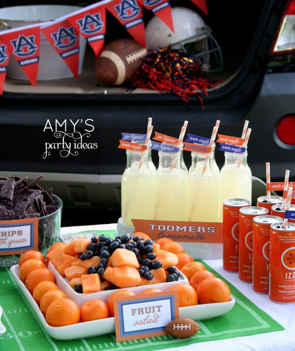 tailgate decorating auburn