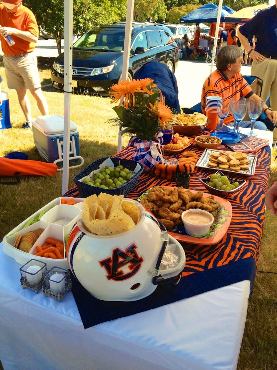 tailgate decorating war eagle