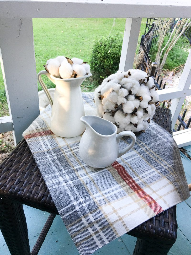 hygge thanksgiving table cotton