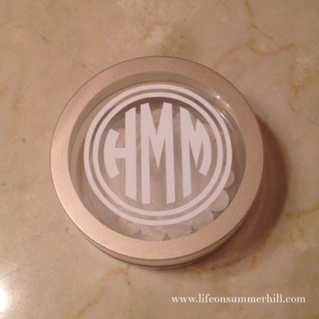 How to make a monogram jewelry case www.lifeonsummerhill.com