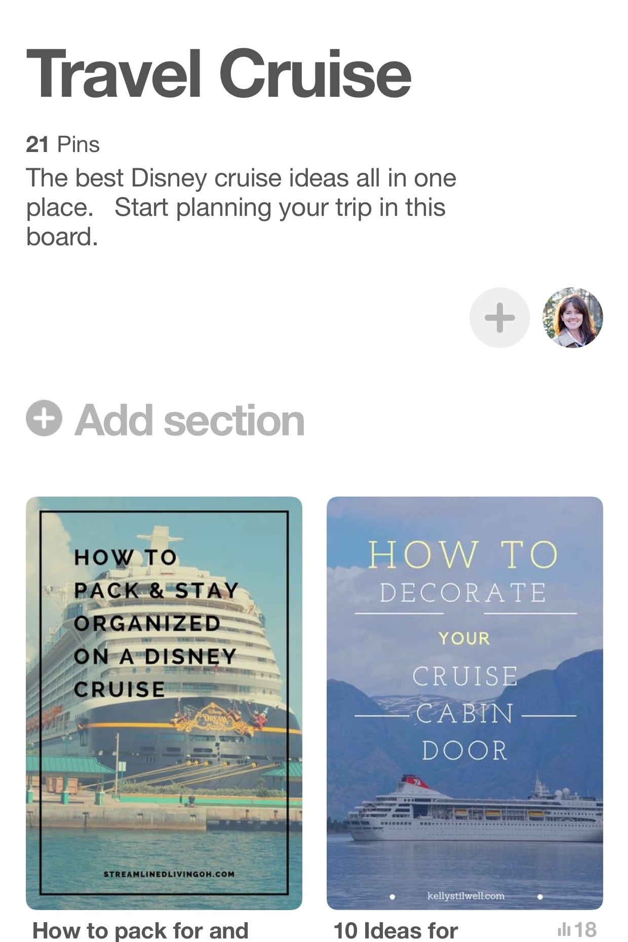 Planning a cruise pinterest