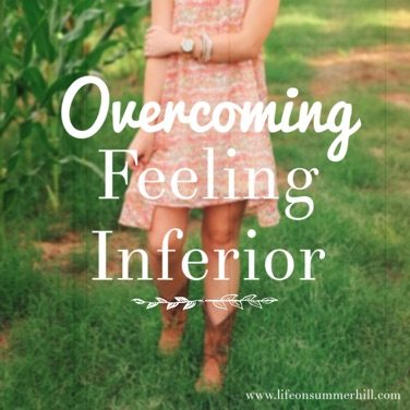 OVERCOMING FEELINGS OF INFERIORITY