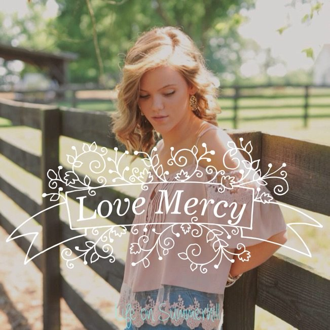 love mercy holy spirit