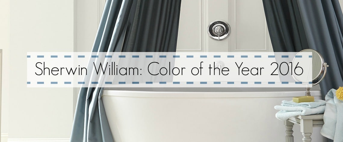 SHERWIN WILLIAMS COLOR OF THE YEAR 2016