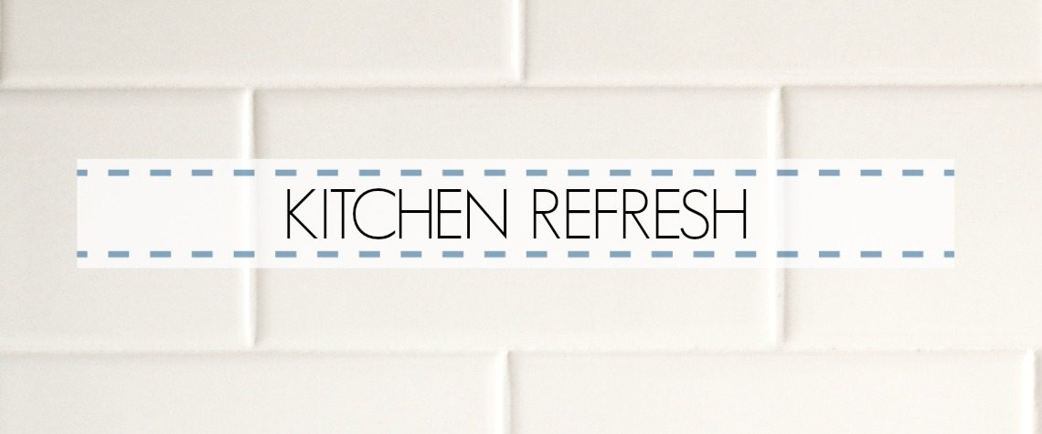 KITCHEN REFRESH PLAN