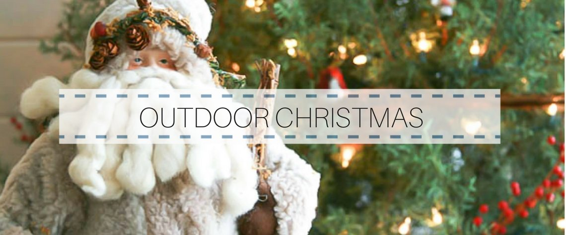 BRINGING CHRISTMAS OUTDOORS FOR A SWEET TOUCH TO THE HOLIDAYS