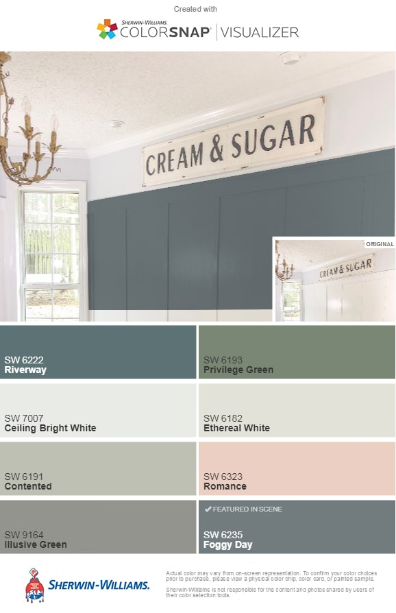 selecting paint colors fixer upper colorsnap suggestions