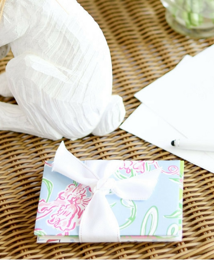 Letter for mom lilly pulitzer envelope