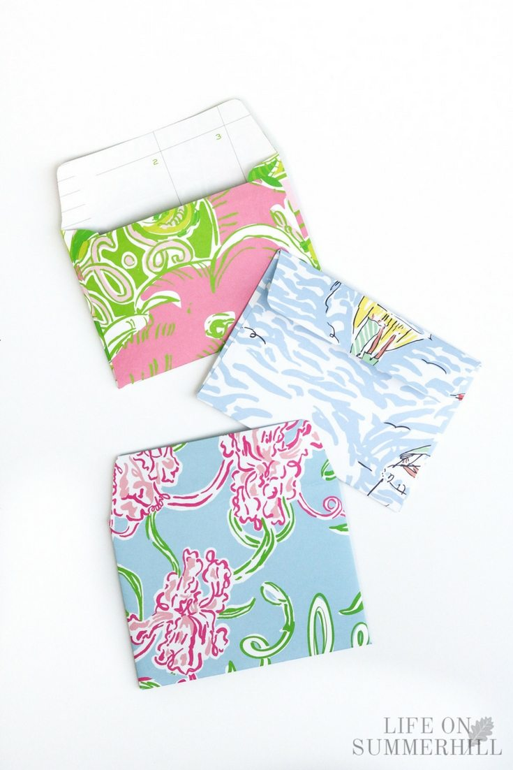Letter for mom lilly pulitzer stationary