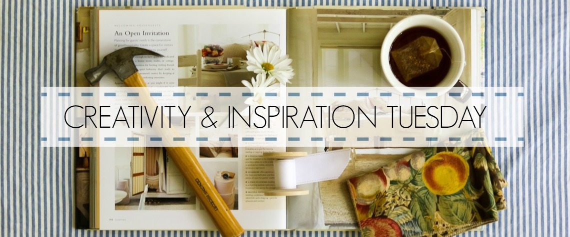 CREATIVITY & INSPIRATION TUESDAY {No.1}