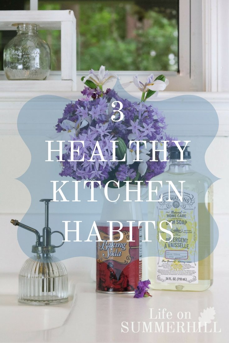 3 healthy kitchen habits