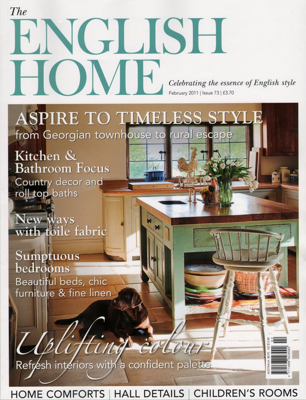 English life on summerhill for Home living magazines