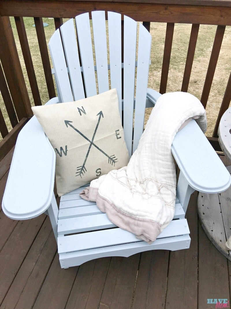 DIY Farmhouse Adirondack Chairs - Must Have Mom