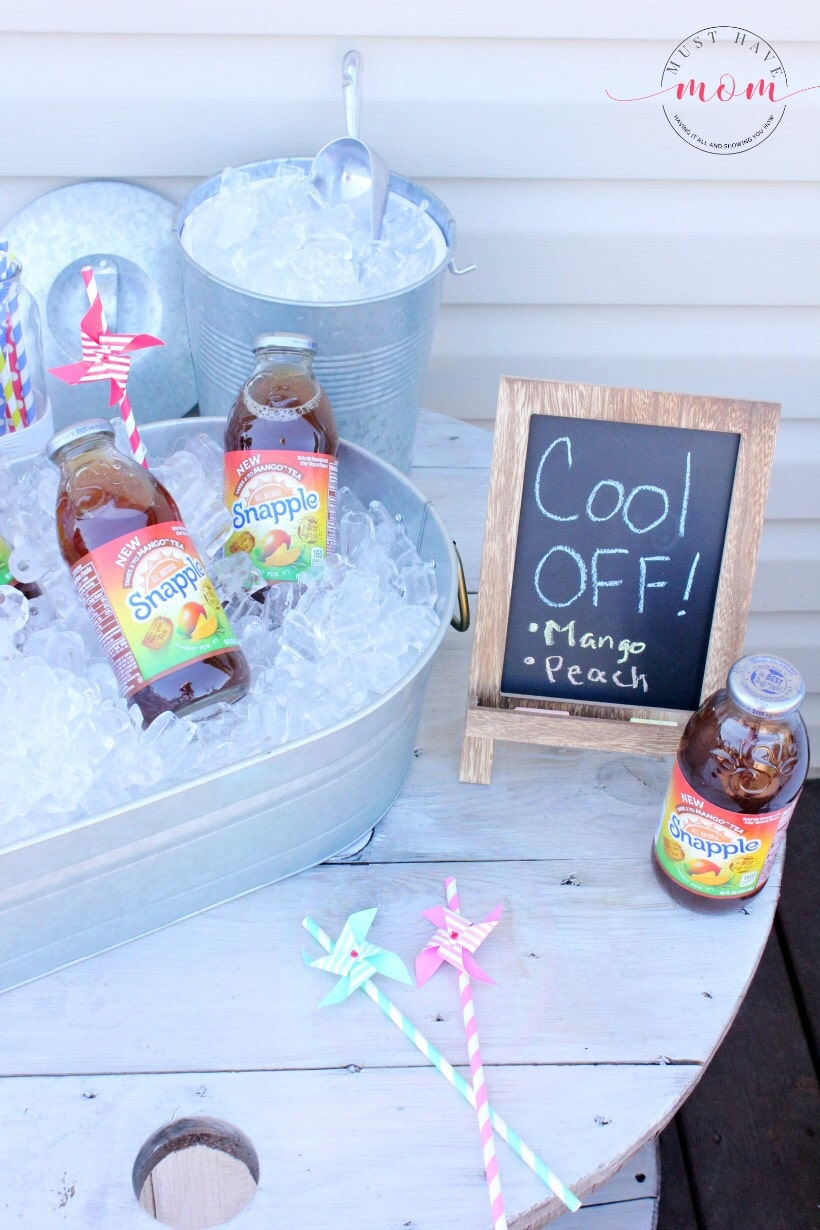 Outdoor Beverage Station - Must Have Mom