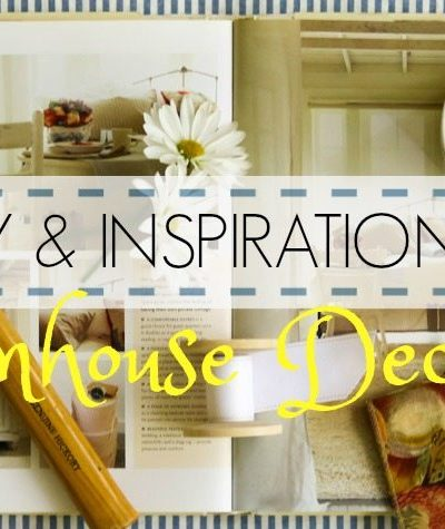 Creativity & Inspiration Tuesday Farmhouse decor