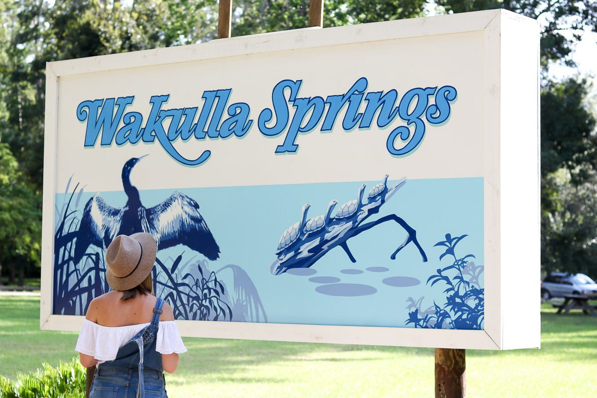 Visit Wakulla Springs Sign
