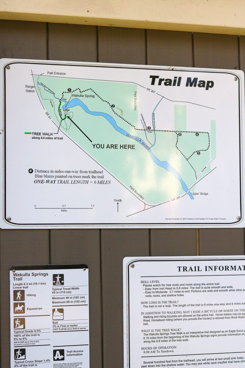 Visit Wakulla Springs hiking