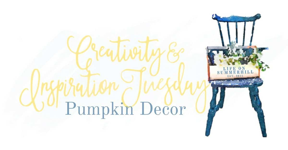 Pumpkin decor logo