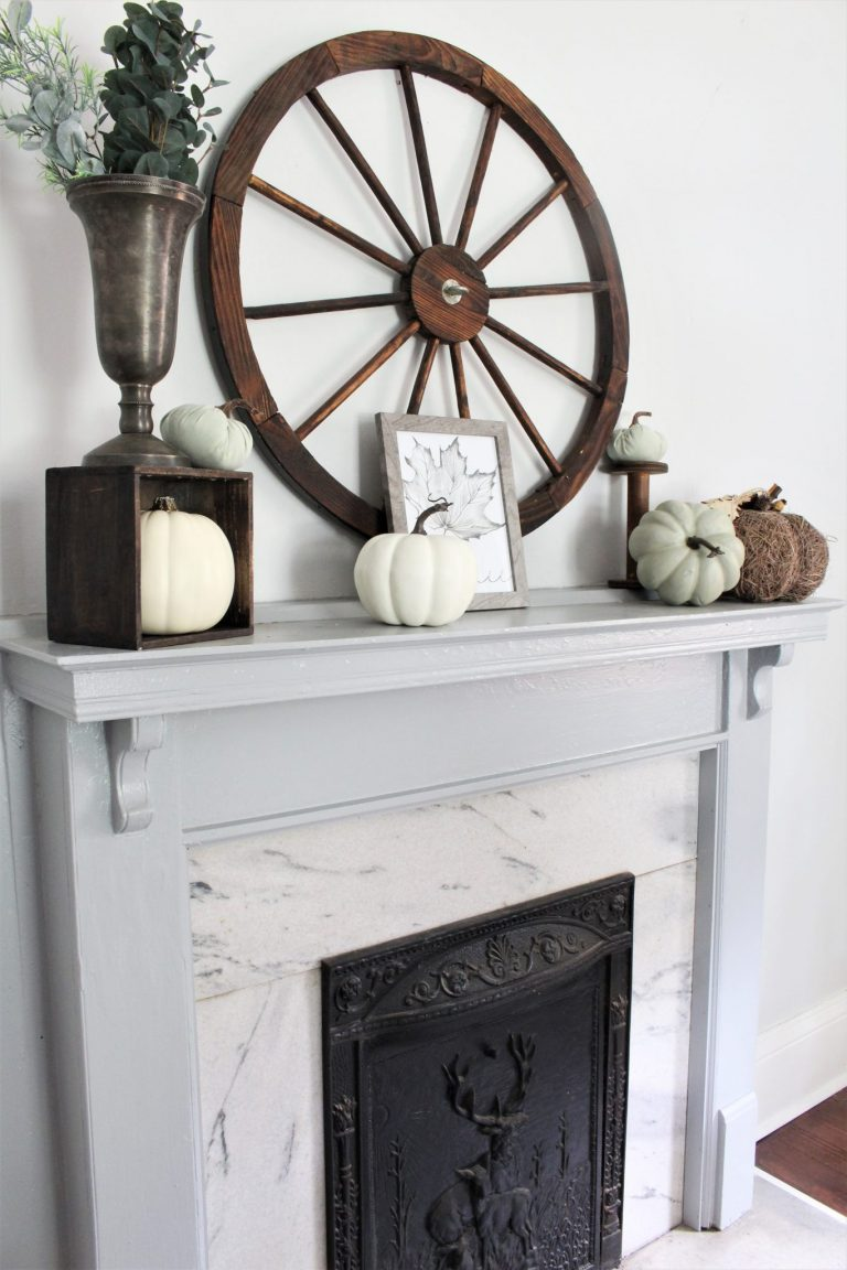 Autumn Mantels Neutral
