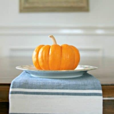 USING SMALL PUMPKINS IN YOUR DECOR