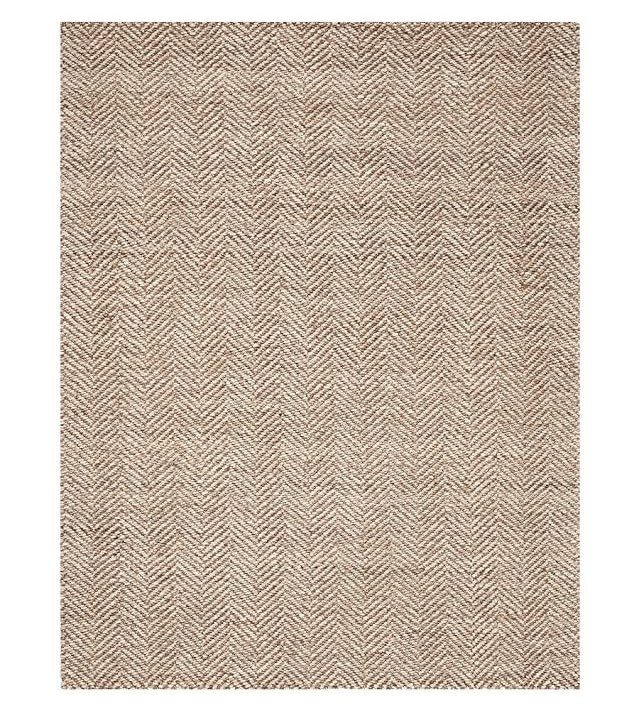rugs pottery barn chevron