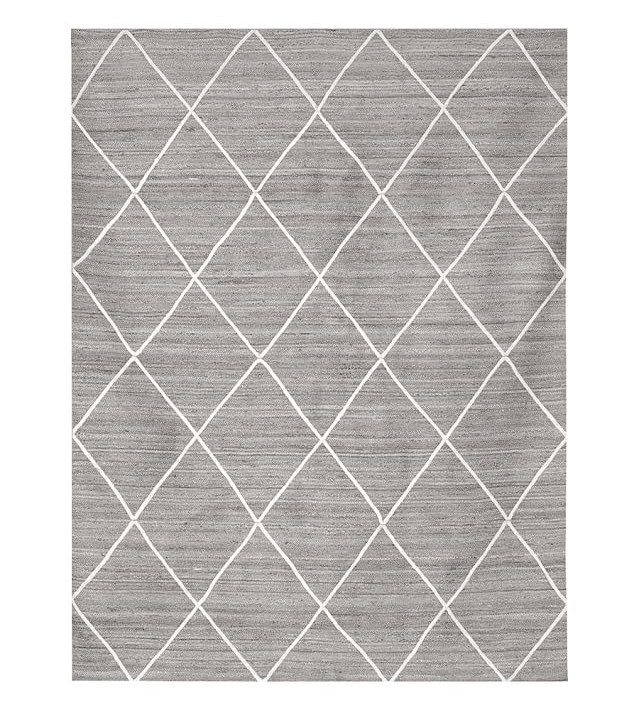 rugs pottery barn diamond