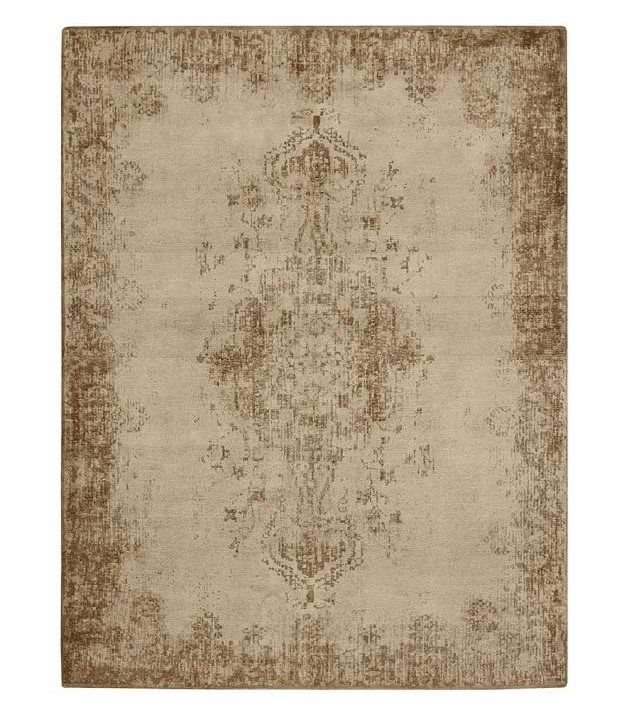 rugs pottery barn oriental tan