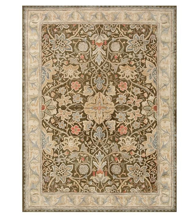 rugs pottery barn oriental light brown
