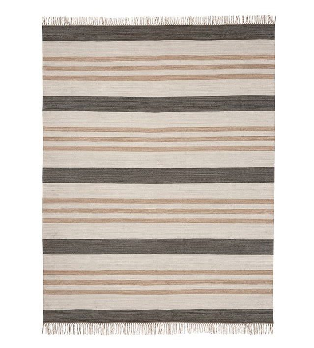 rugs pottery barn stripe