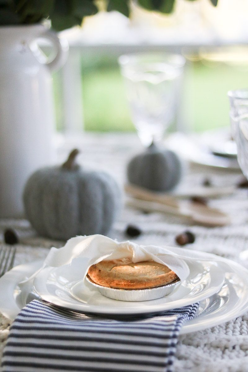 hygge thanksgiving table wooden spoons