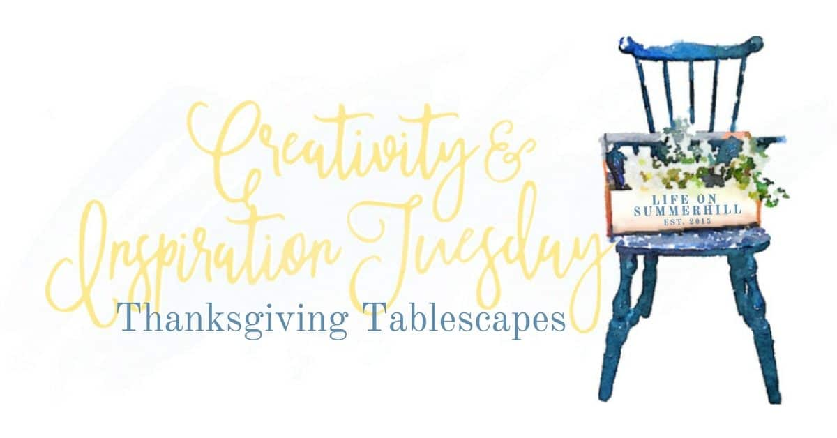 Thanksgiving Tablescapes Facebook