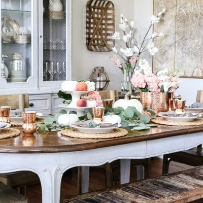 THANKSGIVING TABLESCAPES THAT GIVE YOU REASON TO BE THANKFUL