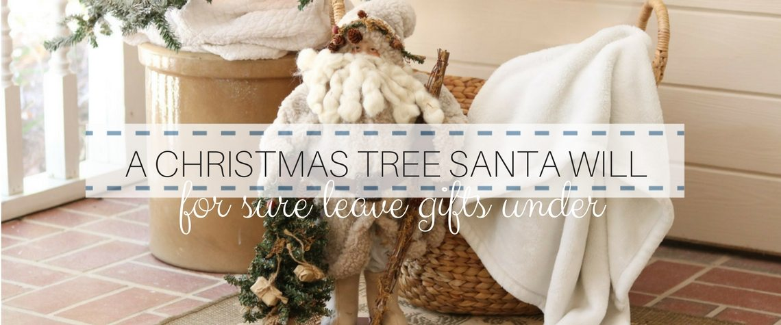 A CHRISTMAS TREE SANTA WILL LOVE TO LEAVE GIFTS UNDER