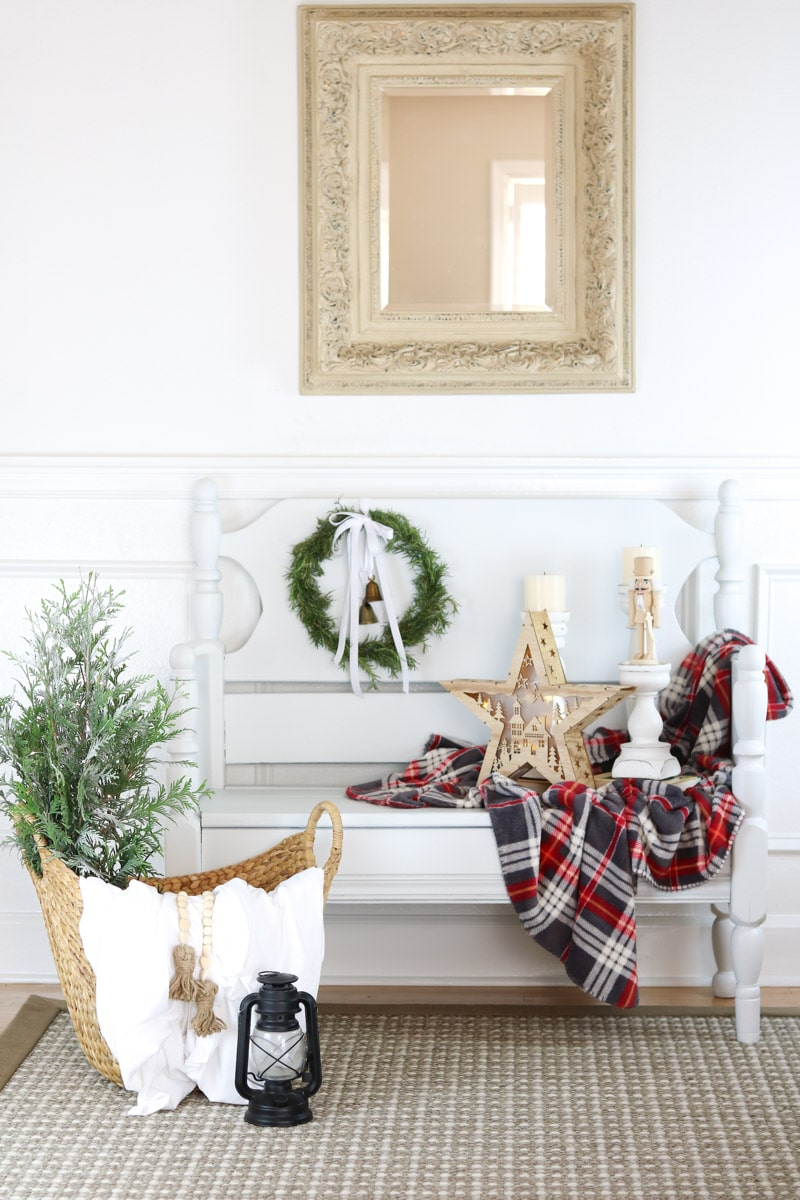 Christmas home tour entry