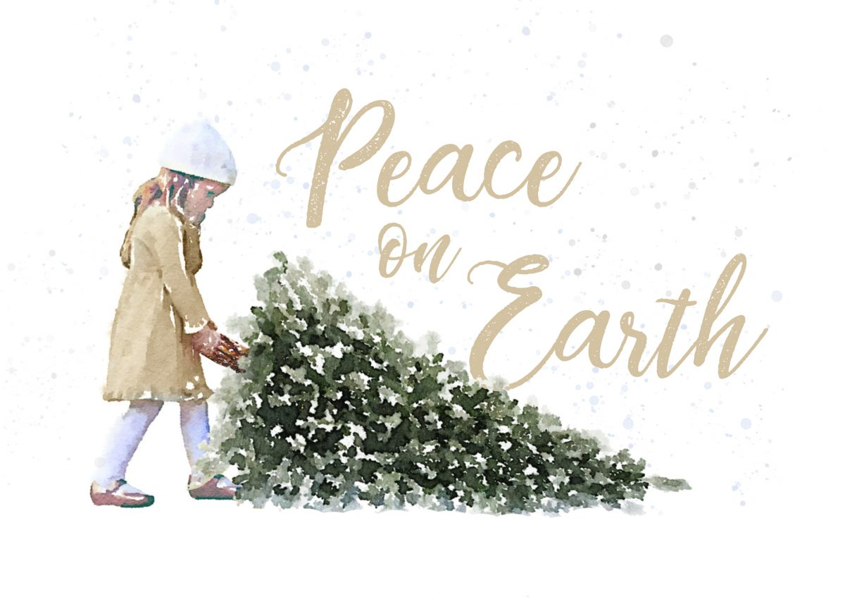 Free printable Peace on Earth