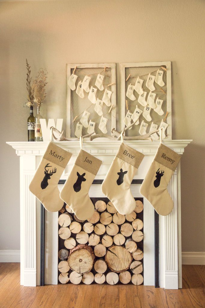Christmas Stockings Pink Slip Inspiration