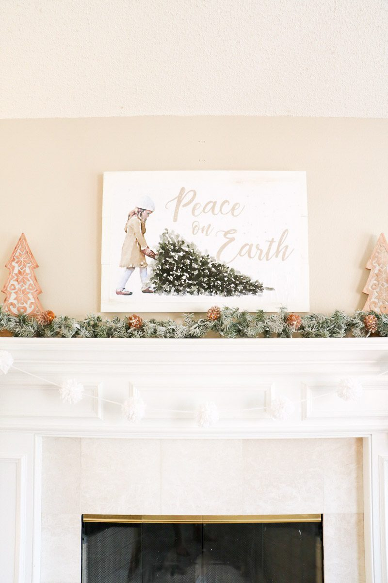Peace on Earth free printable