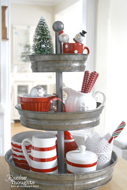Styling Tiered Trays Random Thoughts Home