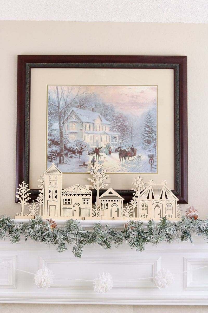 Christmas home tour Thomas Kincade