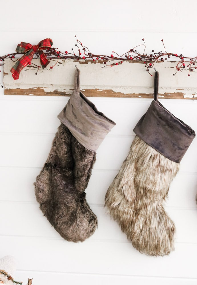 Creative ways to hang Christmas stockings