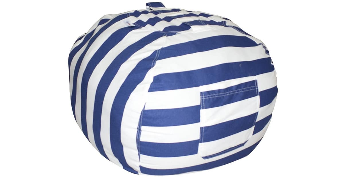 Storage Solutions Bean Bag Chair