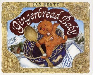 Christmas books Gingerbread Baby