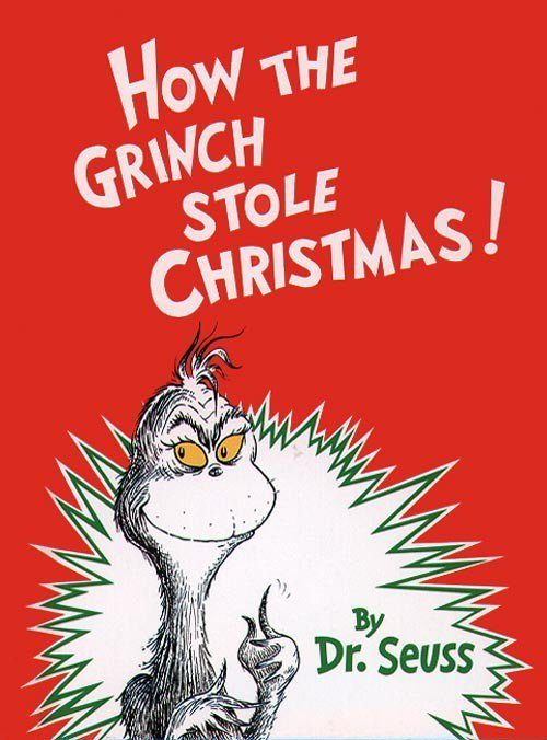 Christmas books How the Grinch Stole Christmas