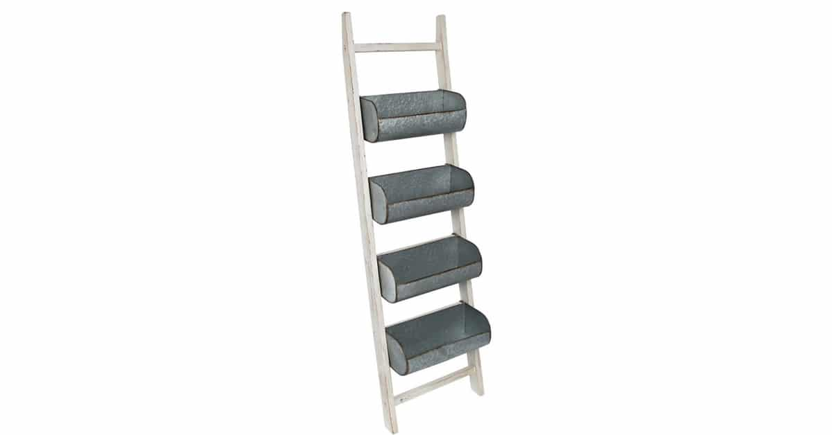 Storage Solutions Storage Bin Ladder