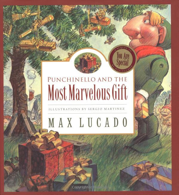 Christmas books Punchinello and the Most Marvelous Gift