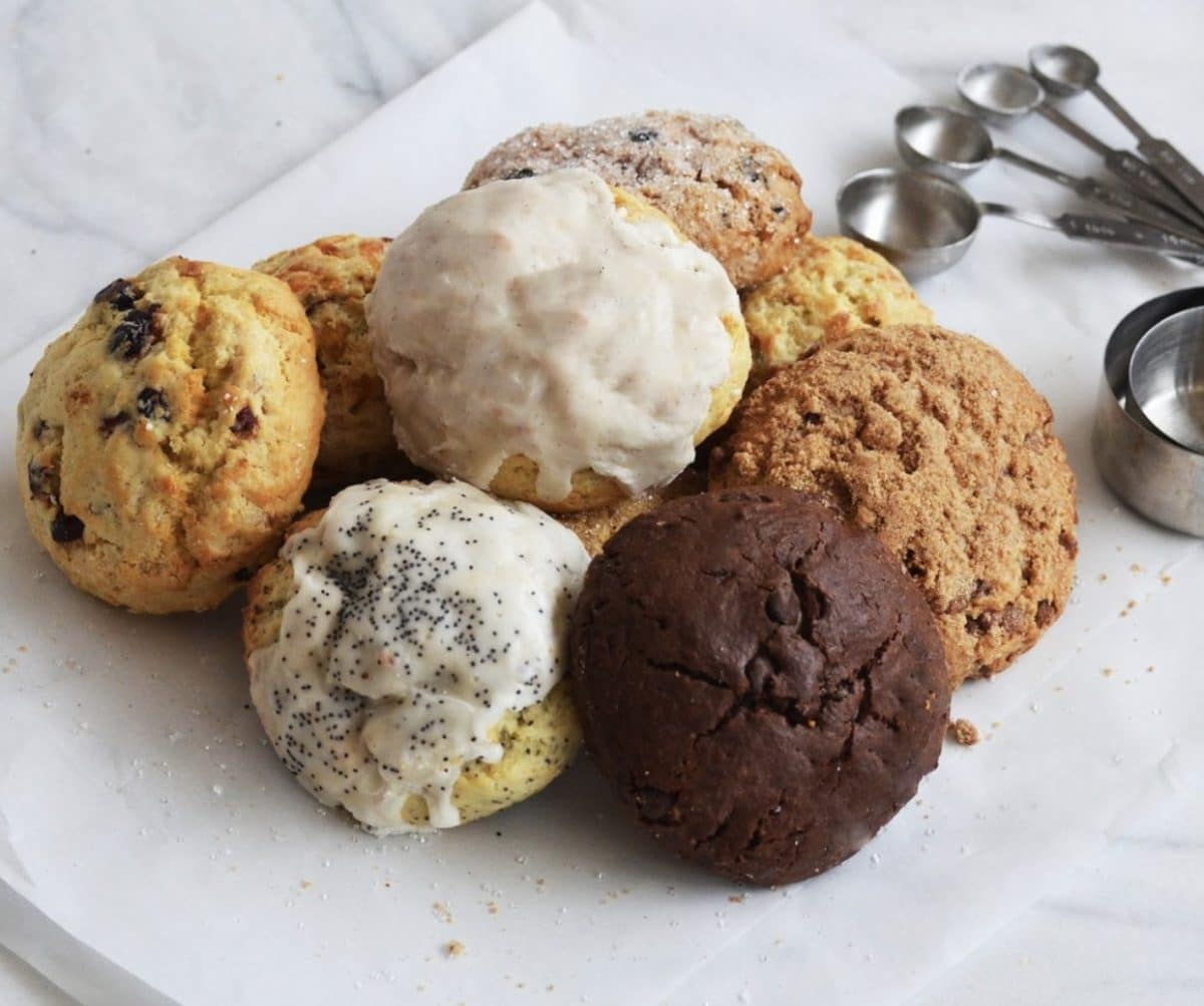 I love you gifts for her with a subscription of delicious scones