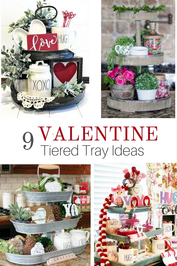 styling tiered trays pinterest