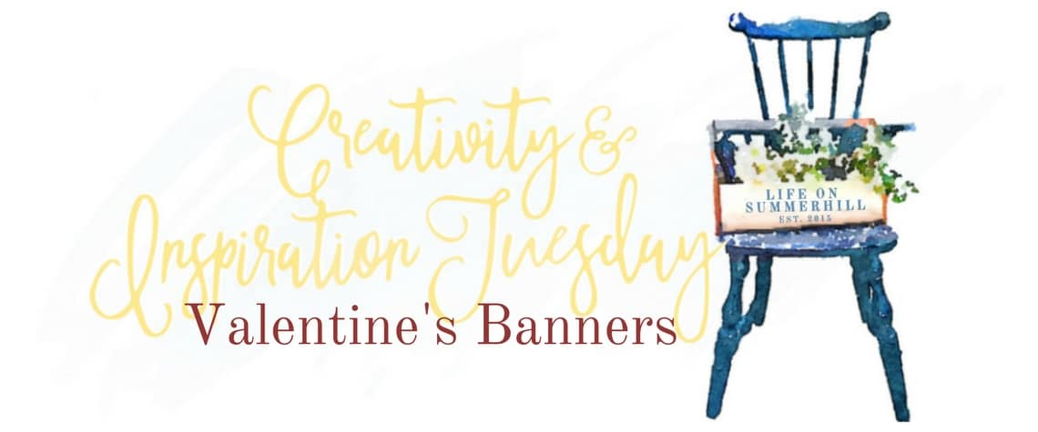 LOVE IS IN THE AIR AND SO ARE THESE VALENTINE'S BANNERS